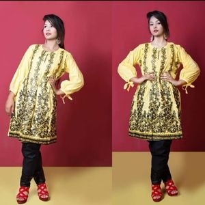 Pakistani embroidered with sequins  kurti
